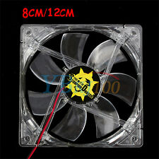 Ventilador 4Pin CPU Cooling Cooler Fan Disipador Para PC Ordenador 120/80mm Caja