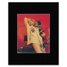 DEBBIE HARRY - New York 1979 Matted Mini Poster