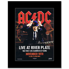 AC/DC - Live at River Plate Matted Mini Poster