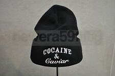 Crooks & Castles Cocaine & Caviar Beanie Hat - Black