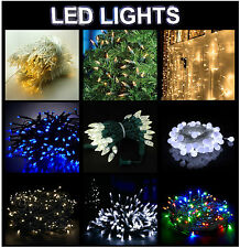 CHRISTMAS FAIRY STRING LED LIGHTS BERRY WARM WHITE BLUE MULTICOLOR WEDDING PARTY
