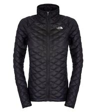 00 The North Face Thermoball Full Zip Piumino Donna, TNF Black