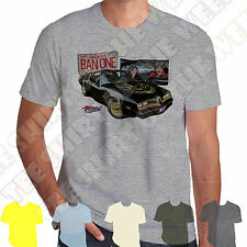 Pontiac Trans-Am Smokey & The Bandit T-shirt 100% Cotton,  7 colours to choose