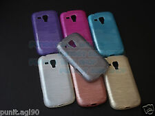 Lining Soft TPU Jelly Silicone Back Cover For Samsung Galaxy S Duos S7562 / 7582