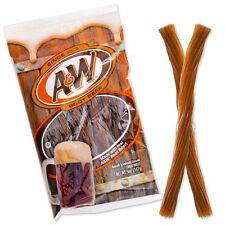 Original A&W Root Beer Twists American Licorice  Soft Chewy Candy Sweets Flavor