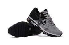 Nike Air Max 2017 Men's Black and Gray Sneakers Running Trainers Shoes