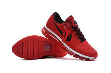 Nike Air Max 2017 Men's Red Sneakers Running Trainers Shoes