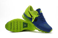 Nike Air Max 2017 Men's Blue and Green Sneakers Running Trainers Shoes
