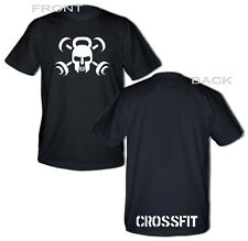 Crossfit T-shirt palestra WOD Allenamento Funzionale Sport Fitness Strength C03