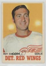1970-71 O-Pee-Chee #21 Roy Edwards Detroit Red Wings Hockey Card