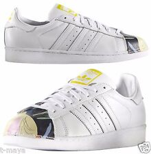 ADIDAS ORIGINALS SUPERSTAR MEN's CASUAL M LEATHER WHITE - WHITE AUTHENTIC N