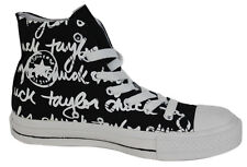 Converse Chuck Taylor All Star Black Edition Hi Top Unisex Trainers 100033F D8