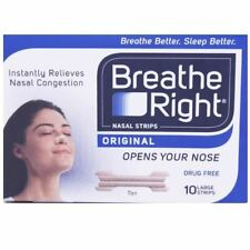 Breathe Right Nasal Strips Large | Tan Colour |10 Strips 1 2 3 6 Packs