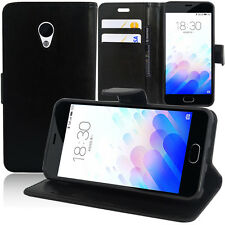 Portfolio Di Custodia Cover Guscio Supporto Video Falda per Meizu M3/ Meilan 3