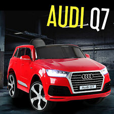 2017 Audi Q7 Kids Ride On Car Jeep 4x4 Amp Led Lights 12v