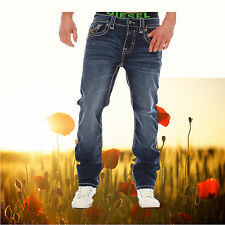 Rock Revival Jeans Herren Callum, Rock Streight Rock Revival, Modejeans, Western