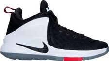 Nike LeBron Zoom Witness Basketball Shoes Black/White/UniversityRed 852439