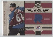 2006-07 Upper Deck Rookie Materials #RM-PS Paul Stastny Colorado Avalanche Card