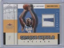2003-04 Fleer Genuine Insider Article Jerseys Patch #GAP-CA Carmelo Anthony Card