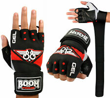 BOOM Prime Mens Gym Weight Lifting Gloves Straps Bodybuilding Training Cycling