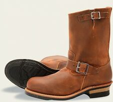Red Wing  Mens Boots 2972 11-Inch Engineer Heritage Work Copper Rough &..-Brown