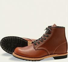 Red Wing  Mens Boots 9016 Beckman Round Classic Dress Cigar Featherstone -Brown