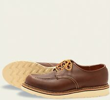 Red Wing  Mens Shoes 8109 Oxford Heritage Work Mahogany Orro-iginal -Brown
