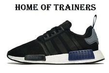 Adidas Originals NMD_R1 Black Trainers All Sizes  (244264)