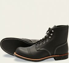 Red Wing  Mens Boots 8114 Iron Ranger Heritage Work Black Harness  Black