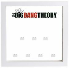 Lego The Big Bang Theory Minifigures Display Case Picture Frame  mini figures