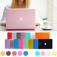 """Hard Rubberized Case Shell +Keyboard Cover for MacBook Pro Retina 13/15"""" Air 11"""""""