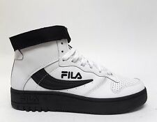 Fila Sports Men's BARCODE FX-100 Shoes White/Black 1VB90153-11 a