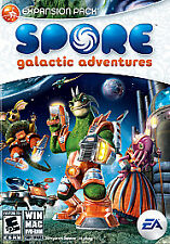Spore: Galactic Adventures (Windows/Mac, 2009) THIS REQUIRES SPORE TO PLAY