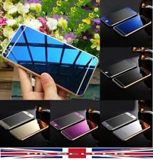 Front Back Mirror Effect Tempered Glass Screen Protector Cover iPhone 5 5S 6 6S+