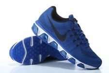 Men's Nike® Air Max Tailwind 8 Royal Blue/Black Running Shoes Med Width Si