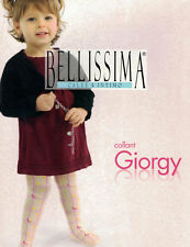 COLLANT BAMBINA * BELLISSIMA * 6/24 MESI IN NYLON - MADE IN ITALY ART. GIORGY
