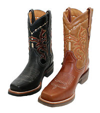 Men's  Genuine Leather Cowboy Western Rodeo Boots Style Alfaro -1050 ~~~