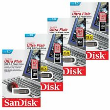 SanDisk 16/32/64/128GB Ultra Flair CZ73 Unidad USB 3.0 Flash Pen Drive 150MB/s