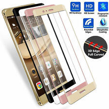 Huawei P9/9+/10 Full Cover Curved 3D Toughened Tempered Glass Screen Protector