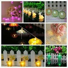 Indoor/Outdoor Fairy String Light Lamp Christmas Wedding Xmas Party Decor PICK