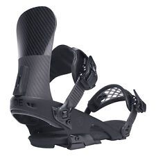 Ride Snowboard Bindings - El Hefe - Stiff, Advanced, All Mountain Black - 2017