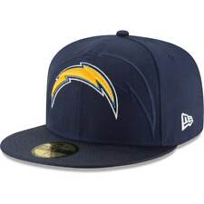 New Era San Diego Chargers 2016 Linea laterale 59FIFTY Su misura NFL cappello