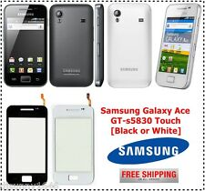 Samsung Galaxy Ace S5830 Touch Screen Digitizer Glass Replacement - Black/White
