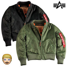 Alpha Industries Kinderjacke Winterjacke Jacke MA-1 VF 59 Kids Jacket 92 bis 164
