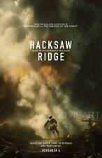 HACKSAW RIDGE MOVIE POSTER FILM ART A4 A3 PRINT CINEMA #2
