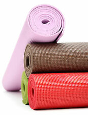 Yoga Mat With Cover For Exercise, Fitness, Meditation, Yoga, GYM - Multi Color