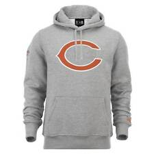 New Era Chicago Bears Logo Hoodie NFL Sudadera Gris