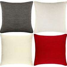 Luxury Plain Chenille Cushion Cover Soft Covers 43 x43cm, 17x17""