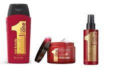 Revlon Uniq One 1 Original Shampoo Hair Mask All In One Hair Treatment RED RANGE