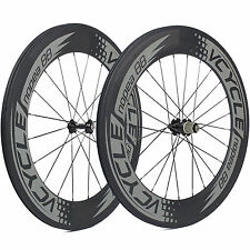 VCYCLE Nopea88 Road Bicicletta 88mm Copertoncino Carbon Set Ruote per
